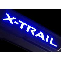 Wholesale LED Lights Illuminated Door Sills For NISSAN X-TRAIL 2014 Side Door Scuff Plate from china suppliers