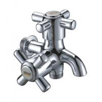 Wholesale Double Cross Handles Washing Machine Taps from china suppliers