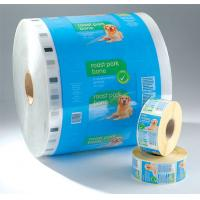 Wholesale PET laminated LDPE Printed Laminating Film Roll , Moisture Proof Good Barrier Plastic Film Rolls from china suppliers