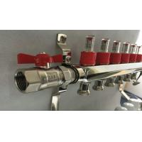 Wholesale Slvier Heating Radiant Floor Manifold For Balancing Underfloor Heating from china suppliers