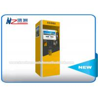 Wholesale Automated Self Service Parking Ticket Vending Kiosk Machines Free Standing from china suppliers