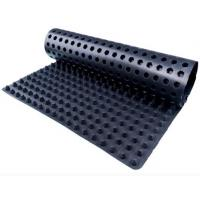 Wholesale High Hardness Polyethylene Dimpled Drainage Board Mat Black / White Color from china suppliers
