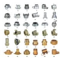 Wholesale OEM ODM Storz Fire Hose Couplings Aluminum / Brass Fire Hose Fittings from china suppliers