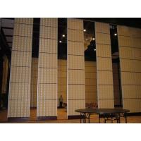 Wholesale Aluminium Sliding Partition Walls for Banquet Hall / Soundproof Wall Panels from china suppliers