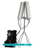 Wholesale 600W 4 to 8 bands High Power Jammer up to 2500m Drone Jammer from china suppliers