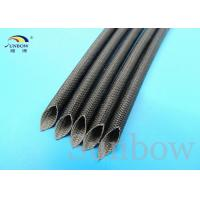 Wholesale Silicone Fiberglass Sleeving High Temperature 8mm Black from china suppliers