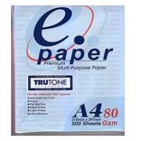 Wholesale White photocopy paper A4 80gsm from china suppliers