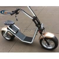 Wholesale 2017 popular electric scooter with big wheels fashion citycoco from china suppliers