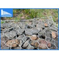Wholesale Hexagonal Gabion Rock Wall Cages , Gabion Wire Mesh Panels Baskets from china suppliers