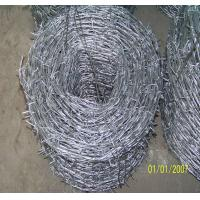 Wholesale 2.0mm High Tensile Barded Wire With Galvanized Used for Defend , Security from china suppliers