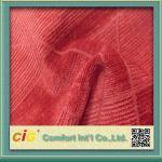 Wholesale High End Flocking Sofa Upholstery Fabric , Leaf Design Chair Fabrics