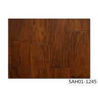 Quality small leaf Acacia Handscraped, UV lacquer, HDF engineered flooring, 3-layer, UV lacquer for sale