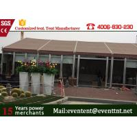 Quality Rot - proof Big Size White Aluminum Large Frame Tent For Party / Events for sale