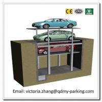 Wholesale 2-3Cars Residential Pit Garage Parking Car Lift Hydraulic Garage Car Lift Parking System from china suppliers