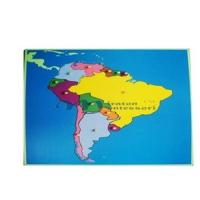 Wholesale Puzzle Map:South America from china suppliers