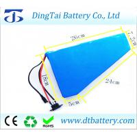 Wholesale 48v 20ah Triangle electric bike battery for 1000W 1500W 2000W motor from china suppliers