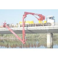 Wholesale 6x4 16M Dongfeng Bucket Mobile Bridge Inspection Unit For Bridge Detection , DFL1250A9 from china suppliers