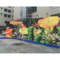 Wholesale P5 Outdoor Rental HD Curved Led Video Wall , 5.95mm Flexible Led Display from china suppliers
