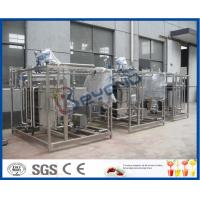 Wholesale Yoghurt Pasteurizer Milk Pasteurization Equipment With SUS304 / SUS316 Material from china suppliers