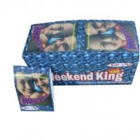 Wholesale Weekend King Sex Capsule Male Sex Enhancement  Herbal Sex Pills for Men Enhancement man last longer time from china suppliers