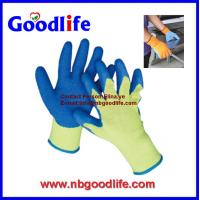 Wholesale 13G Nylon Knitted Latex Garden Gloves from china suppliers
