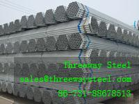 Wholesale Hot dipped Galvanized scaffolding steel pipe and scaffolding steel tube from china suppliers