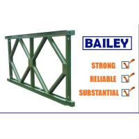 Wholesale Easy Replace Q345b Steel Deck Panels , Standard Bailey Bridge Structure Components from china suppliers