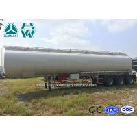 Wholesale High Capacity Fuel Tanker , 40000L - 60000L Oil Fuel Tanker Semi Trailer from china suppliers