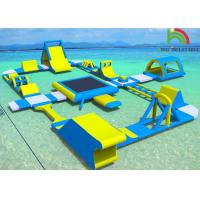 Wholesale Customized Amazing Kids Inflatable Water Parks For Sea Airtight / Sealed Type from china suppliers