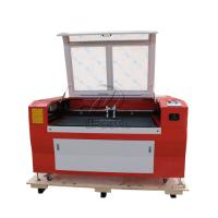 Wholesale Low Cost  Co2 Laser Engraving Cutting Machine for Stainless Steel /Acrylic/ Leather/ Wood with Double Heads from china suppliers