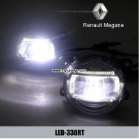 Wholesale Renault Megane body parts car fog led lights DRL daytime driving light from china suppliers