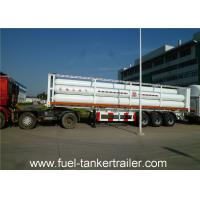Wholesale Container tube gas tank trailer for Loading CNG Medium with 9 units Gas Cylinder from china suppliers
