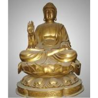 Wholesale Bronze Buddha Sculpture&Statue 02 from china suppliers