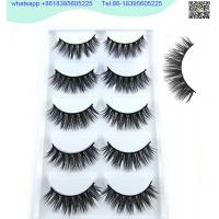 Wholesale china 3D Faux Mink Double-Layered Silk Lashes Synthetic Fake Eyelashes Wholesale from china suppliers