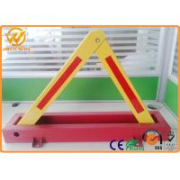 Wholesale CE Triangle Fordable Car Locked in Private Car Park600mm Locking High 4.5kg Weight from china suppliers