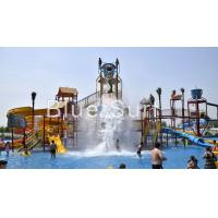Wholesale Mermaid Theme Pour Bucket Water Playground Equipment Water Park Equipment from china suppliers