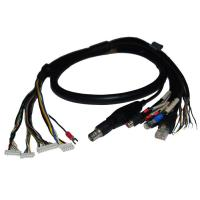 Wholesale Security Cable Group Bus RJ45 Plug plus BNC Female (50Ω or 75Ω) plus 2* RCA Female from china suppliers