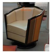 Wholesale Black Lounge Sofa / Wooden Lounge Chair For Hotel Lobby 2 Years Gurantee from china suppliers