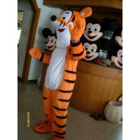 Quality custom design disney character tigger mascot costume for adult for sale