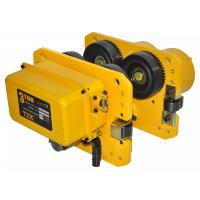 China Easy Fixed 3 Ton Electric Hoist Trolley With Disc Type Brakes Simple Structure Gear Box on sale