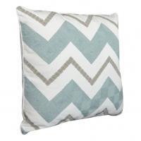 Wholesale Hayden Stitched Square Reversible Brown and Green Throw Pillow 100% Handed Made from china suppliers