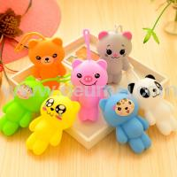 Wholesale HOT High Quality New Design Cute Bear Silicone Key Bag Eco-friendly Key Case Holder from china suppliers