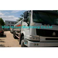 Wholesale 25000L Oil Tanker Trailer 6X4 , HOWO Water Tanker Truck in Red from china suppliers
