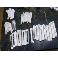 Quality OEM Manufactured White ABS Plastic Parts Tooling and Injection Molding for sale