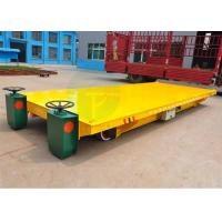 Wholesale Heavy duty material handling trolley on rails applied in construction industry from china suppliers