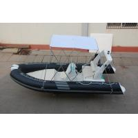 Quality Abrasion Resistance Hard Bottom Inflatable Boat Fiberglass Hull With PVC Layer for sale
