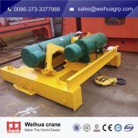 Wholesale Wire Rope Electric Hoist Trolley For Double Beam Crane With Remote Control from china suppliers