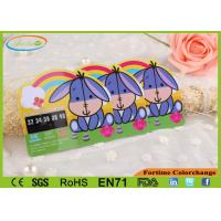 Buy cheap Liquid Crystal Color Change Baby Bath Water Thermometer Card Customized from wholesalers