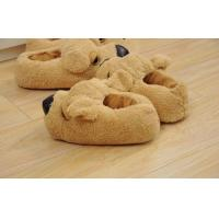 Wholesale Home / indoor / hotel 35-45 children Custom Dog Slipper OF coral plush from china suppliers