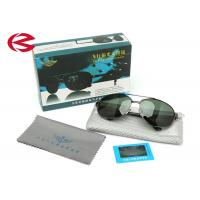 Wholesale Adult Polarized Mirrored Aviator Sunglasses With Dark Green Unbreakable Lens from china suppliers